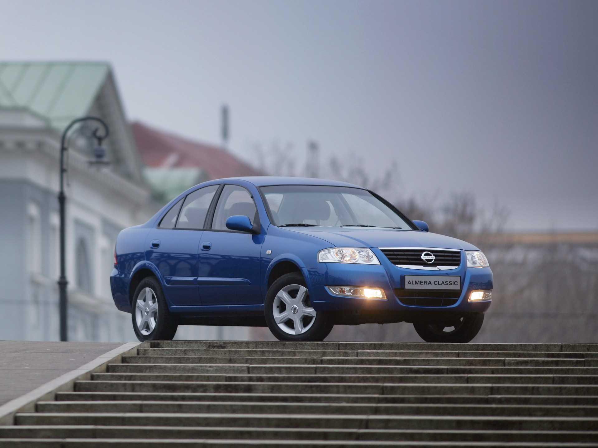 Купить шины и диски на Nissan Almera Classic B10 Sedan 1.6 2007 в интернет-магазине Вианор