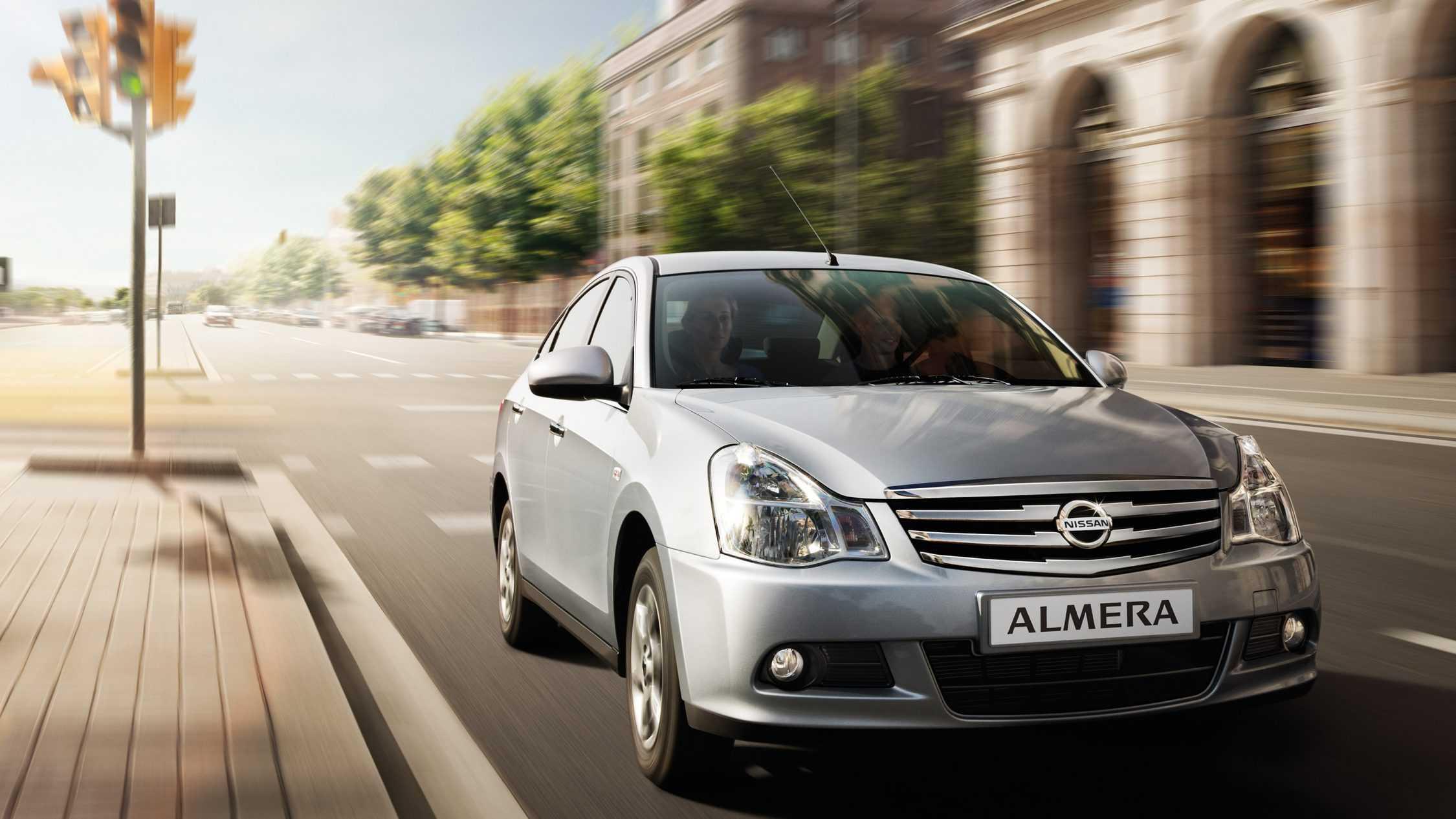 Купить Ниссан Альмера Москва цена 2019-2020 на Nissan Almera новый, официальный дилер - все комплектации