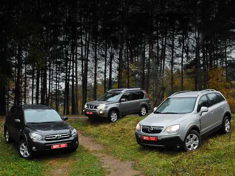 Сравнение автомобилей Nissan X-Trail или Toyota RAV4: какую машину выбрать