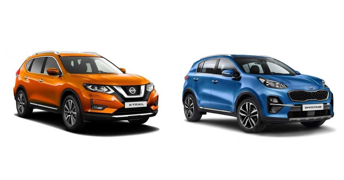Сравнение Nissan X-Trail (2007-2010) 2.0 и Suzuki Grand Vitara 5D (2008-2012) 2.0