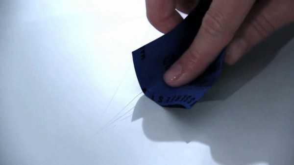 Как убрать царапины с пластика? 12 эффективных способов   видео