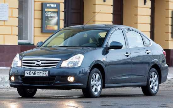 Технические характеристики Nissan Almera G15   Ниссан Альмера