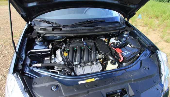 Двигатель Ниссан Альмера характеристики, расход, коробка передач