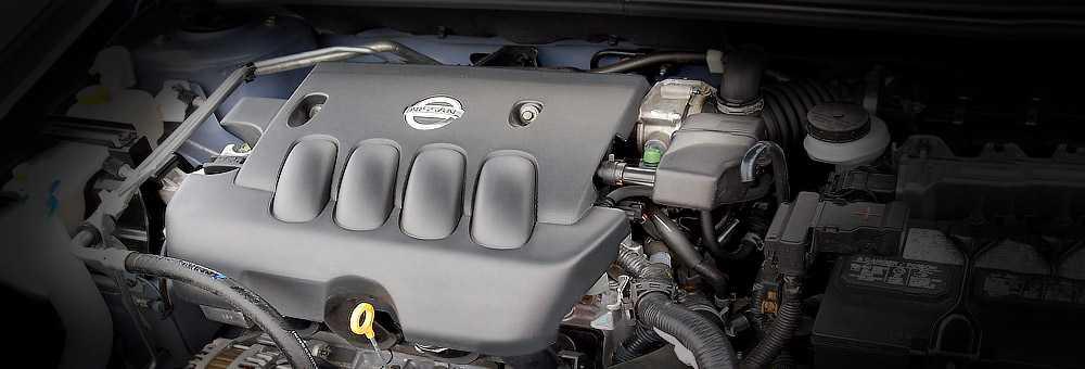 MR20DE - двигатель Ниссан 2.0 литра  