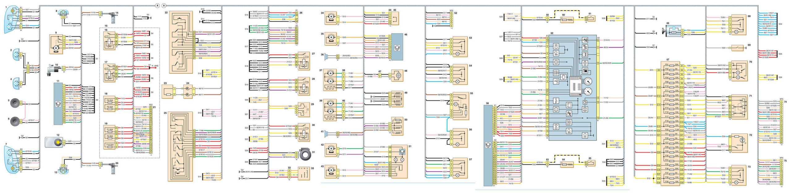 Nissan Almera Classic с 2006 года, применение схем инструкция онлайн