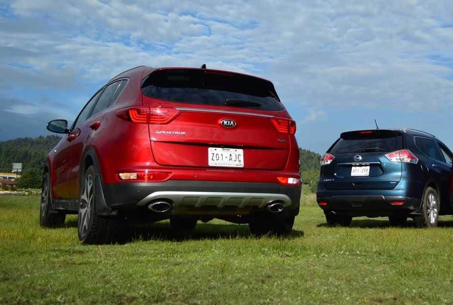 Сравнение автомобилей кроссовер Nissan X-Trail T31 и кроссовер Kia Sportage II рестайлинг