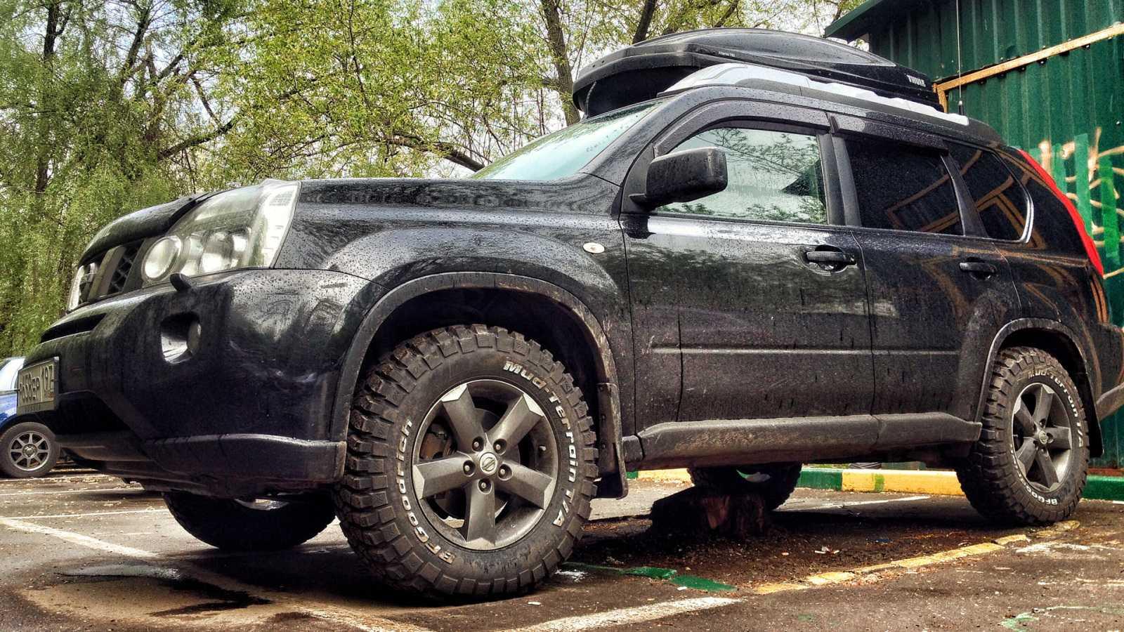 В России появились в продаже лифт-комплекты Pedders для Nissan X-Trail