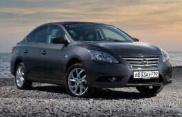 Размеры шин и дисков для Nissan Sentra