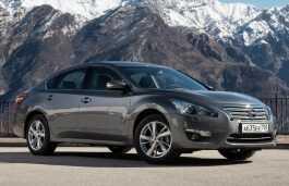 Nissan Teana 2014 - Размеры колеc и шин, PCD, вылет диска и другие спецификации - РазмерКолес.RU