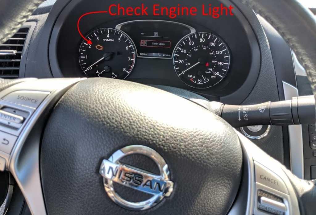 Поиск и устранение неисправностей Nissan Check Engine Light
